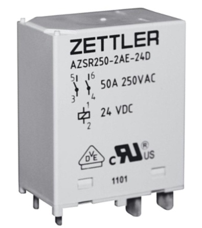 Zettler e mobility solutions electric vehicle relays electric figure 4 azsr250 sciox Choice Image